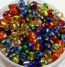 Top quality Japanese Rocaille Beads x 500 mixed.